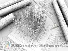 3D Home Interior Design House Architect Kitchen Bathroom Bedroom CAD Software