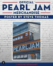Pearl Jam Steve Thomas Wrigley 2018 Official Merch Tent SHIPS TODAY