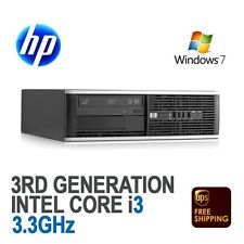 HP Compaq 6300 Pro SFF Desktop PC Core i3-2120 3.3GHz 8GB 500GB Windows 7 Pro
