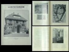 CONSTRUCTION MODERNE 1930 JARDINS DOUCE FRANCE, ETAMPES, WOOG, LA MADELEINE NORD