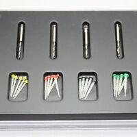 new Box Dental Fiber Set 20 pcs Fiber Post & 4 Drills Dentist Product Hot Sale