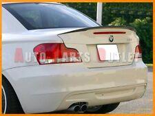 08-13 E82 Coupe 128i 135i BMW Performance Look Carbon Fiber Trunk Boot Spoiler