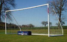 NEW Samba 16'x'7' 9 a side Football Goal - Plastic Samba Goal Post With bag
