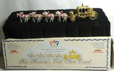 MATCHBOX MODELS OF YESTERYEAR HER MAJESTY'S 40TH GOLD STATE COACH - YY66