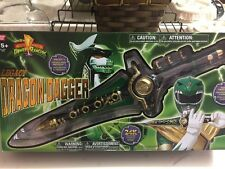 Bandai Legacy Dragon Dagger Mighty Morphin' Power Rangers Green Ranger Cosplay
