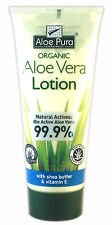 1 Pack of Aloe Pura Aloe Vera Organic Lotion 200ml With Shea Butter & Vitamin E