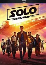 Solo: A Star Wars Story (DVD 2018)Brand New-Action/Adventure/USA SELLER