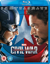 Captain America: Civil War Limited Edition Sleeve (Blu-ray, 2016)