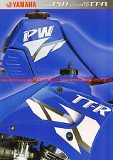 YAMAHA PW 50 80 TT-R 90 125 LW - 2002 : Brochure - Dépliant - Moto        #0634#