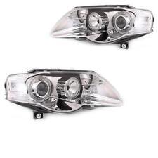 Set fanali VW PASSAT B6 3C ANGEL EYES chiaro / CROMO H7 + H7 1004317