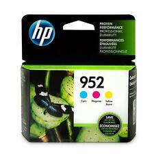 HP 952 Lot de 3 cartouches d'encre d'origine cyan/magenta/jaune (N9K27AN)