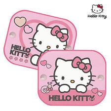 2 X Hello Kitty coche ventana sombrillas Protección Uv Persianas Niños Niños Bebé