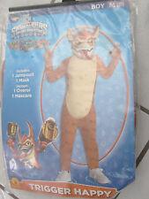 Boys Skylanders Spyro's Adventure size 8M Trigger Happy Rubies Halloween costume