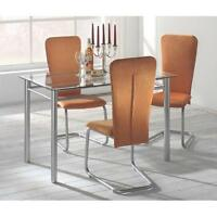 2er-Set Freischwinger Schwingstuhl Esszimmerstühle Stuhl Küchen Stühle Gruppe