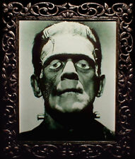 "Haunted Spooky Frankenstein Photo ""Eyes Follow You"""