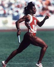 VALERIE BRISCO-HOOKS USA OLYMPIC SPRINTER 8X10 SPORTS PHOTO (S)