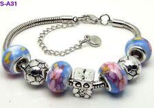1pc beautiful charm bracelet fit porcelain beads S-A31