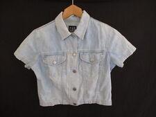 chemise en jean Gap Bleu Taille 36 à - 56%
