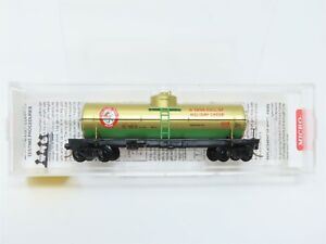 N Micro-Trains MTL 65440 MTL Holiday Tracks Car 39' Single Dome Tanker #1999