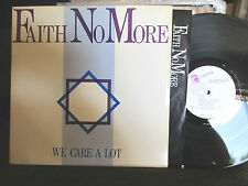 FAITH NO MORE We Care A Lot LP '85 MORDAM 1st OOP funk rap rock rare vinyl rare!
