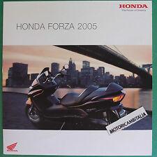 HONDA SCOOTER FORZA 2005 PUBBLICITA DEPLIANT CATALOGO BROCHURE