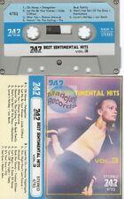 Best Sentimental Hits vol 03 cassette K7 tape 747 label delegation clifford ..