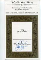 Orson Scott Card Ender's Game Sci-Fi Signed Autograph Easton Press Bookplate