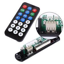 Digital LED 5V MP3 Audio decoder board USB FM Radio Remote Control For Car