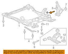 GM OEM Rear Suspension-Bushing Kit Bolt 11588744