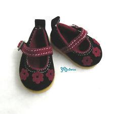 Mimi Collection Yo-SD 1/6 Bjd Dollfie Leeke Doll Velvet Flower Shoes Black