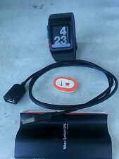 Preowend in  Good Condition Nike+Sport Watch GPS Black/Red  Retail $169