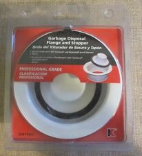 Keeney 4-1/2-in dia White Stopper Garbage Disposal Flange K5417WH