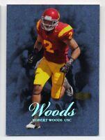 2013 Flair Showcase ROBERT WOODS Rookie Card RC LEGACY #/150 USC TROJANS 95 RAMS