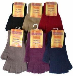 Ladies Handy Thermal Gloves Full Finger or Fingerless