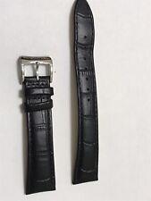 Raymond Weil Leather Strap Black 18 mm