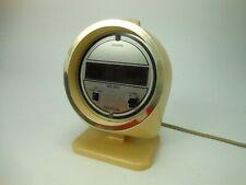 Vintage Big Ben Westclox Digital Alarm Clock Model 22586 Mid Century