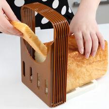 Brown Kitchen Bread Toast Sandwich Loaf Slicer Toast Slice Cutter Mold DIY Tool
