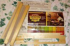 """Vintage Hobby Time Yarn Benders 15"""" Weaving Loom"""