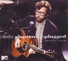 ERIC CLAPTON Unplugged DELUXE CD + DVD Classic 70s Rock TEARS IN HEAVEN