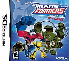 Transformers: Animated - The Game Ds