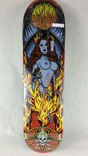 "Benson Devil Women Pro deck - Death Skateboards 8 "" with grip & free shipping"