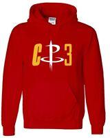 "Chris Paul Houston Rockets ""CP3"" Jersey shirt Hooded SWEATSHIRT"