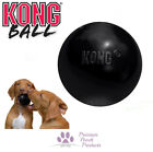 KONG Ball Black Extreme ball for fetch Solid rubber for extreme bounce - 2 sizes