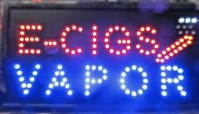 E-Cigs Vapor Led Sign,Window sign,smoke shop sign,Store Sign ,Business Sign