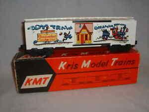 Custom KMT O-Gauge 1973 Disneyland Convention Train Box Car, OB