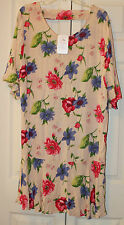 Womens Plus Size Fall spring floral dress Size 2XL new