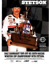 NASCAR autographed 8x10 photo lot