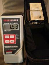 Victoreen Associates Density Dosimeter Model 07 443 With Carrying Case