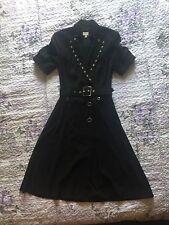 Karen Millen Talla 12 Vestido Negro