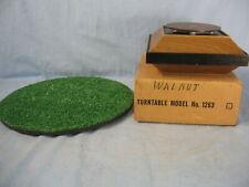 Hankscraft Display Turntable Walnut Model No.1263